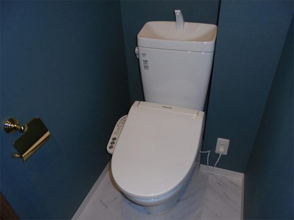 施工後のトイレ便座イメージ