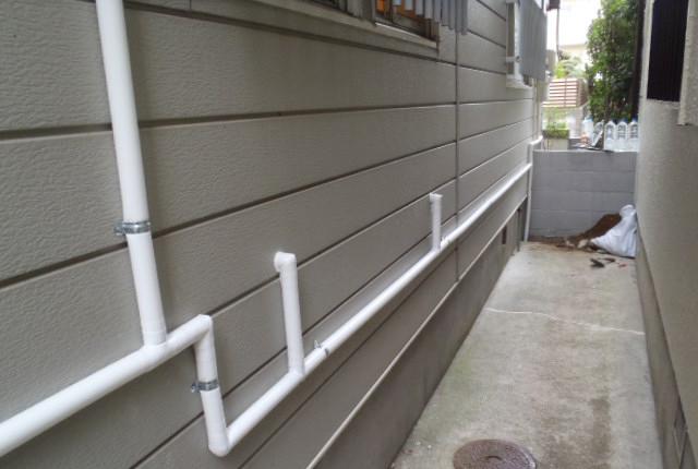 給水配管工事イメージ